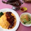 タワーレストラン昭和 - 料理写真:オムハヤシ