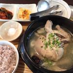 韓国料理 HARU - ランチ…参鶏湯定食