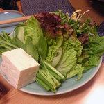 桃太郎 - 野菜鍋の野菜