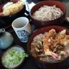 そば処 小玉家 - 料理写真:天丼セット 980円。