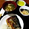 純子 - 料理写真:焼魚(さば)定食650円