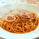 31006669 - 海の幸のトマトソース
