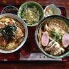 そば処 ごうど - 料理写真:かつ丼+たぬきうどんセット
