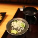 蕎麦 冷麦 嵯峨谷 - 薬味