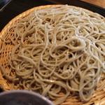 江戸蕎麦ほそ川 - そば