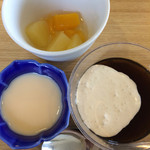 グルメロード - デザート(最高級プリン・缶詰フルーツ・コーヒーゼリー)