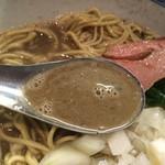 らー麺屋 バリバリジョニー - 煮干しスープ