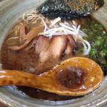 麺の家 こりく - とりとんこつラーメン
