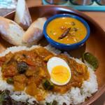 南インドの味 カレーリーフ - サタデーブランチ
