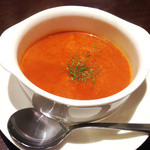 ナンタラ - このスープがトマトの酸味とココナッツミルクの柔らかい味わい♡