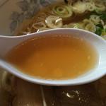 青竹打ちラーメン 一力 - スープ