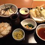 和食さと - 料理写真:松茸ごはんとろろそば膳1393円