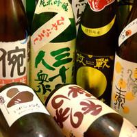 夜は日本酒のお店!15種類以上揃った地酒が350円より!