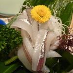たむら - サヨリの刺身