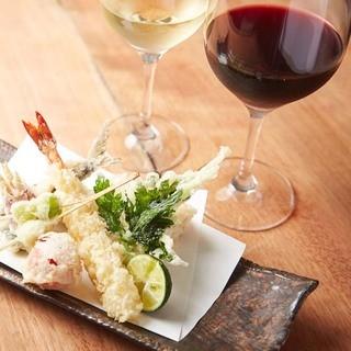お酒やワインをお楽しみください!