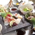 蓮こん - 料理写真:特選コース