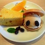 あみかふぇ - ランチデザート