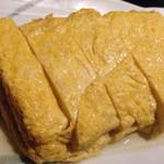 蕎麦人弁慶 - 玉子焼き