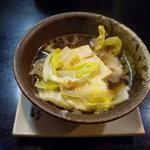 ゆたか寿司 - とり豆ふ_2010-01-24