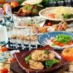 【日~木3h飲み放題付】鶏食べつくし「鶏づくし」‐TORIDUKUSHI‐5000円⇒4000円