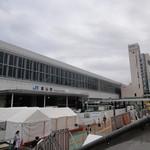 立山そば - 新幹線開業に向けて工事中
