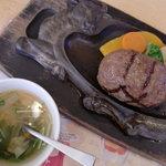 炭焼きレストランさわやか - げんこつハンバーグ