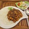 ルート 宮ヶ瀬 64 - 料理写真:豆カレーセット