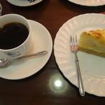 サッポロ珈琲館 - ケーキセット