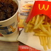 マクドナルド - 料理写真:マックフライドポテト(M):150円クーポン利用+コカ・コーラゼロ(M):100円クーポン利用