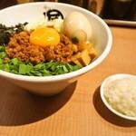 マルショウ - 料理写真:台湾まぜそば & 味玉トッピング