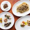 シチリア屋 - 料理写真:シチリアセット(前菜七種とイワシのブカティーニ)