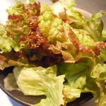 韓国亭豚や - サラダ