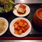 韓国亭豚や - ランチセット