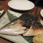 原始焼・二代目・魚々子 - 鰤の頭