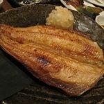 原始焼・二代目・魚々子 - 縞ほっけ