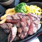 肉の松山 - 和牛ドライエイジングランプステーキ