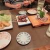酔月 - 料理写真:イカフライ・焼き鳥3本セット・アジのなめろう
