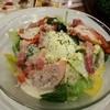 ガスト - 料理写真:温泉卵のシーザーサラダ449円(税抜)