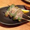 鳥と魚の店 キンクラ - 料理写真:ししとうチーズ巻き