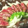 菜蔵 - 料理写真:牛ミスジの陶板ステーキ