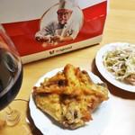 ケンタッキーフライドチキン - 料理写真:オリジナルチキンをテイクアウトして、スパゲッティサラダと、赤ワインで頂くのが好きです。