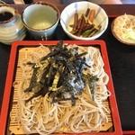 春日屋 - 料理写真:ざるそば(740円)