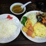 新華苑 - 料理写真:A定食1200円