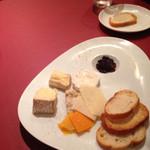 神楽坂ルバイヤート - チーズの盛り合わせ小?