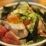 あかとら - 1000円『海鮮丼』2014年9月吉日