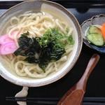 ごんぐり亭 - 魚うどん(単品)