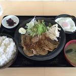 よしめん - 生姜焼き定食