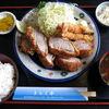 きらく亭 - 料理写真:ヒレカツ定食