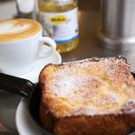 パンとエスプレッソと - 午後3時~のフレンチトースト