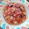 パスタランテ - 料理写真:トマトとナスのスパゲティ 840円
